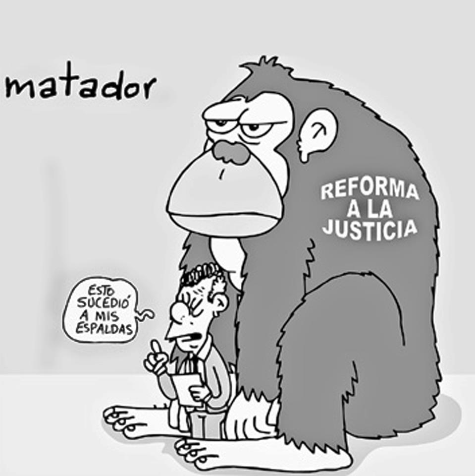 Las objeciones presidenciales son para salvar la reforma a la justicia