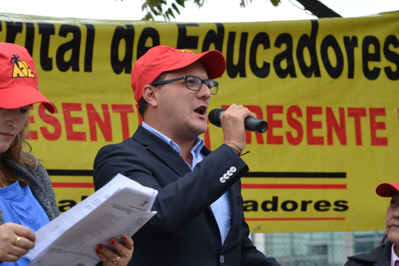 Carta abierta del concejal electo por el Polo Democrático, MANUEL SARMIENTO, al magisterio de Bogotá