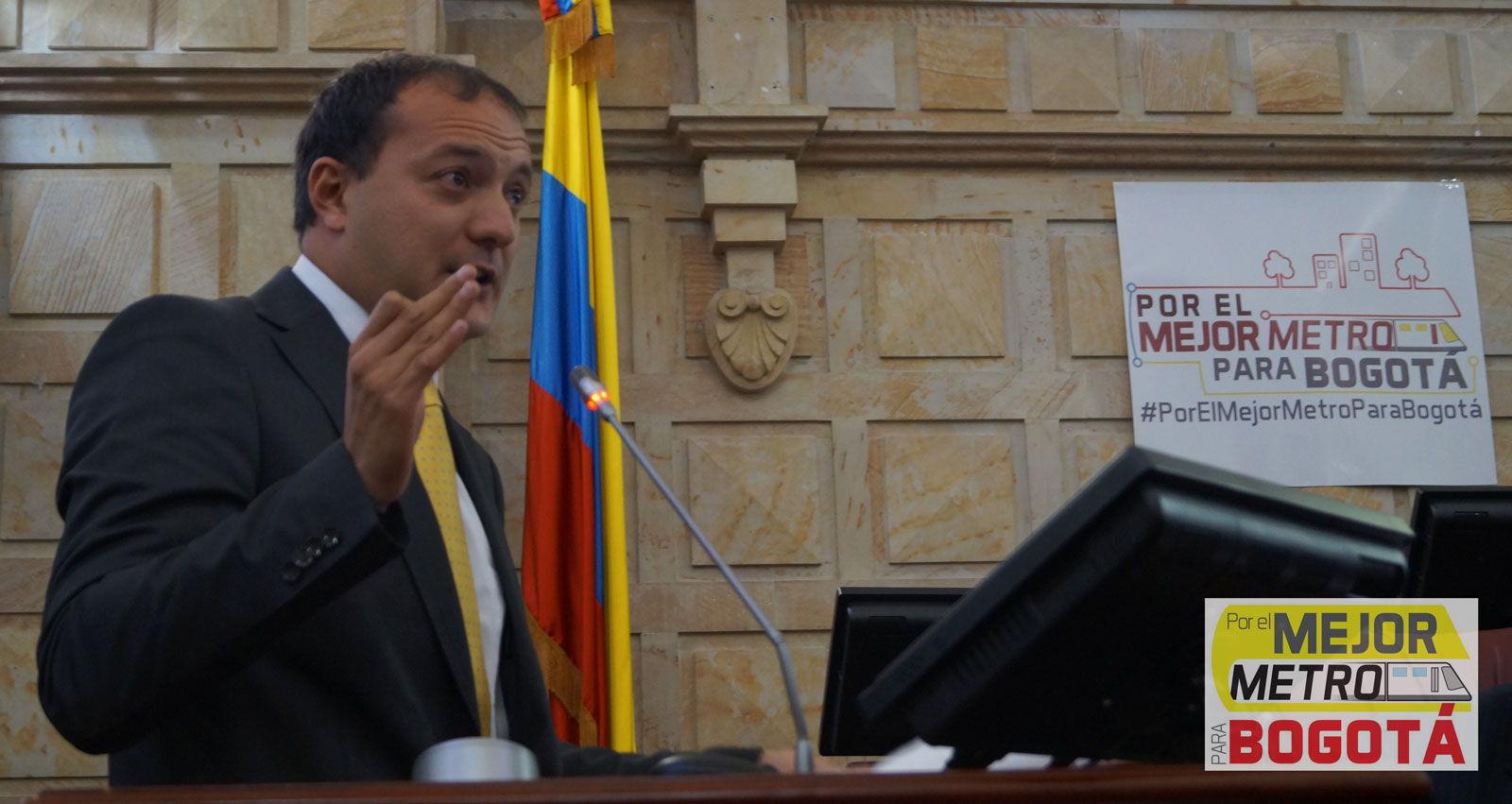 Peñalosa ataca los estudios del metro con falacias: Manuel Sarmiento