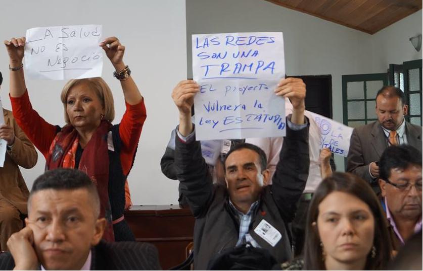 Proyecto de salud de Peñalosa, no se respalda en estudios técnicos serios, aumenta las barreras de acceso y es ilegal: Manuel Sarmiento