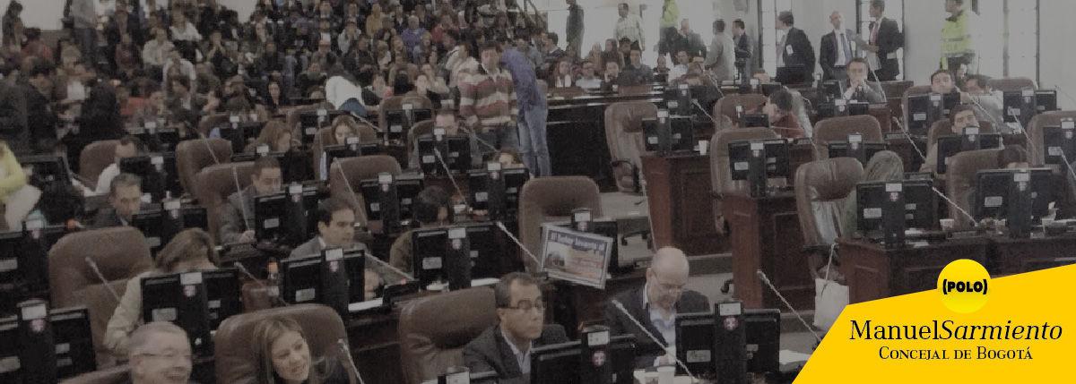 Concejales y Representantes demandan acuerdo sobre elección de Personero y Contralor