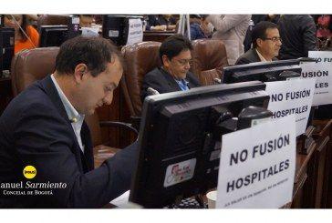 Dentro y fuera del recinto, Manuel Sarmiento defiende la salud de la ciudadanía bogotana. Balance semanal