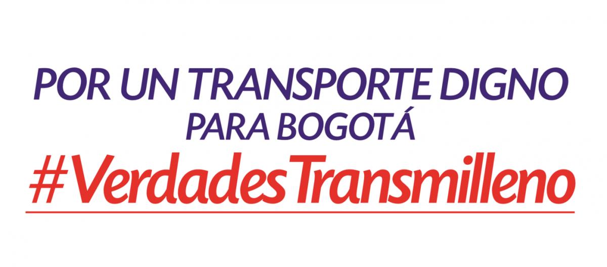 En el modelo Transmilenio, ganan diez grupos empresariales y pierden millones de usuarios: Manuel Sarmiento