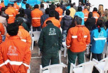 Declaración del concejal Manuel Sarmiento acerca de los despidos en la Empresa de Acueducto de Bogotá