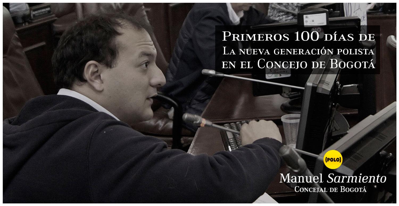 Primeros 100 días de La nueva generación polista en el Concejo de Bogotá: Apenas se inicia la Resistencia Civil.