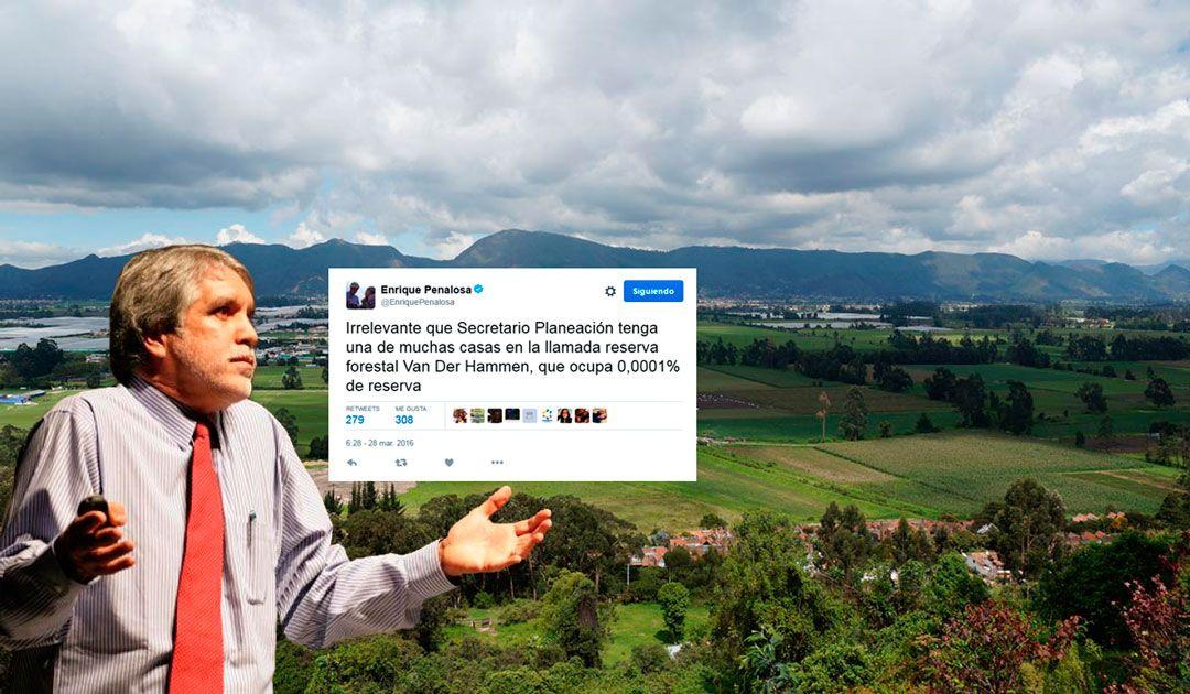 Inadmisibles y ficticios son los argumentos de Peñalosa para rechazar el impedimento del Secretario de Planeación: Manuel Sarmiento