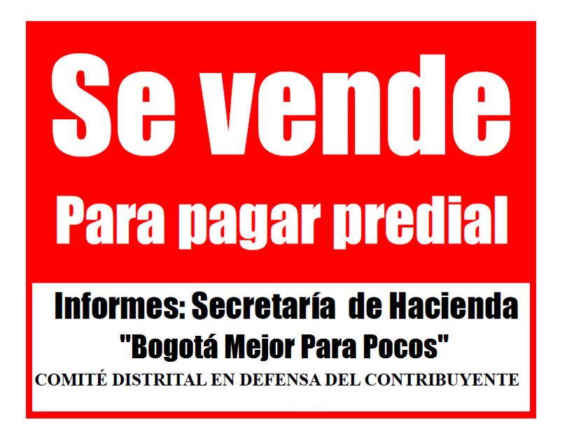 Carta pública del concejal Manuel Sarmiento a Secretaria de Hacienda, Beatriz Arbeláez, sobre el inicuo cobro del impuesto predial.