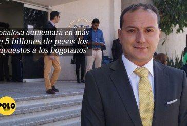 'Peñalosa aumentará en más de 5 billones de pesos los impuestos a los bogotanos': Manuel Sarmiento