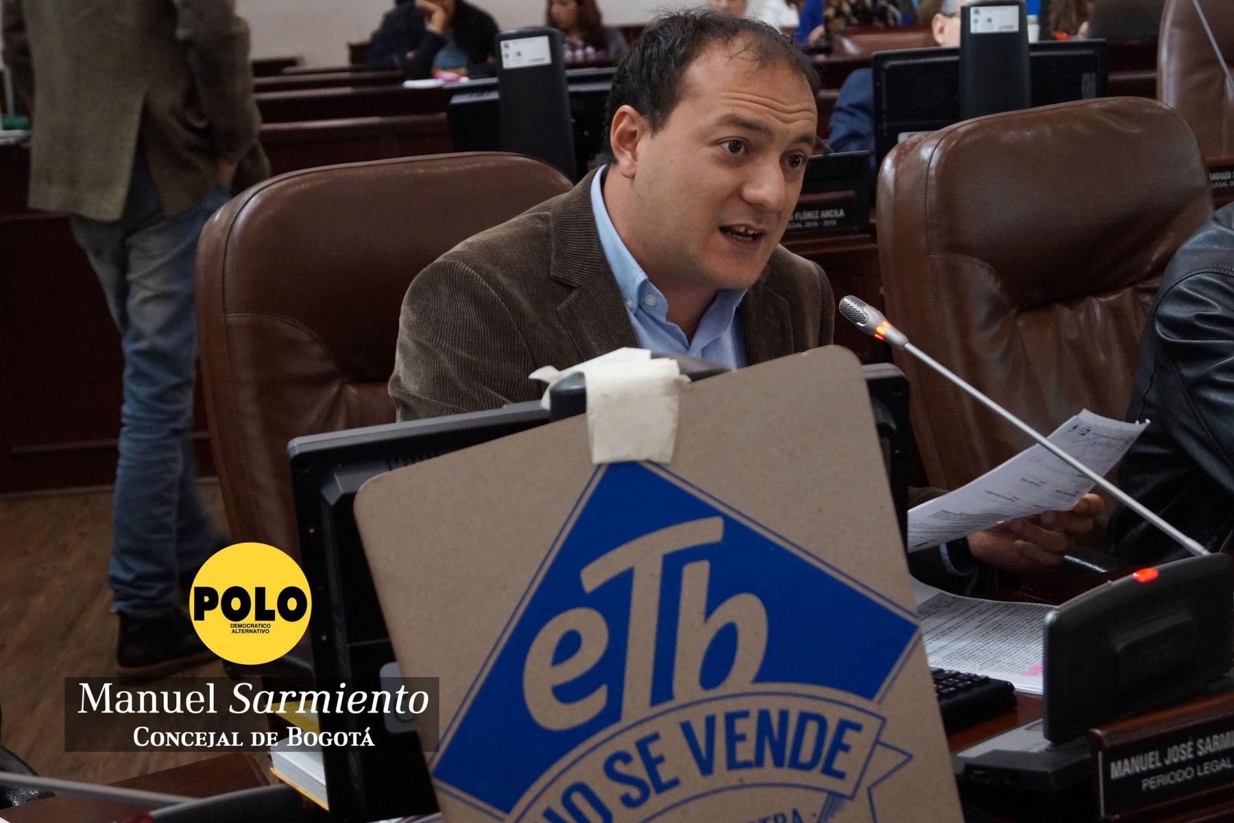 Polo Democrático Alternativo votó negativamente el Presupuesto de Peñalosa para el 2017