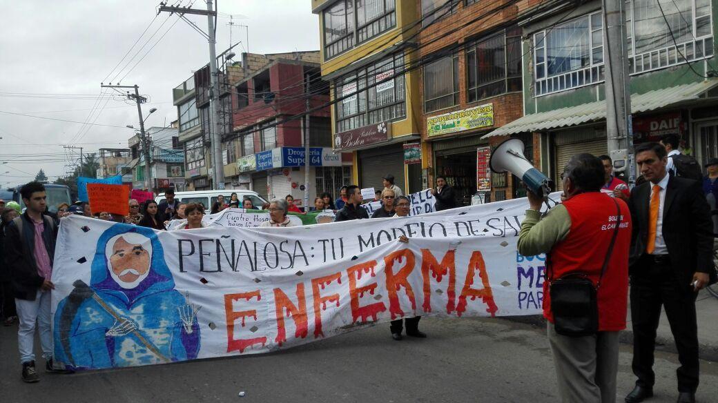 Peñalosa y Morales continúan engañando descaradamente a los bogotanos con la salud.