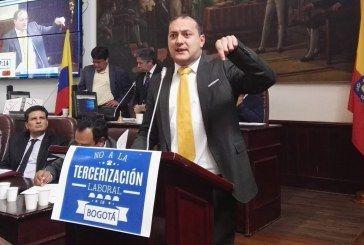 """""""Queda demostrado que la política de Peñalosa es contra los trabajadores"""": concejal Manuel Sarmiento"""