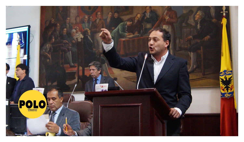 """""""Presupuesto de 2017 confirma que con Peñalosa priman los meganegocios contrarios a los derechos ciudadanos"""": concejal Manuel Sarmiento"""