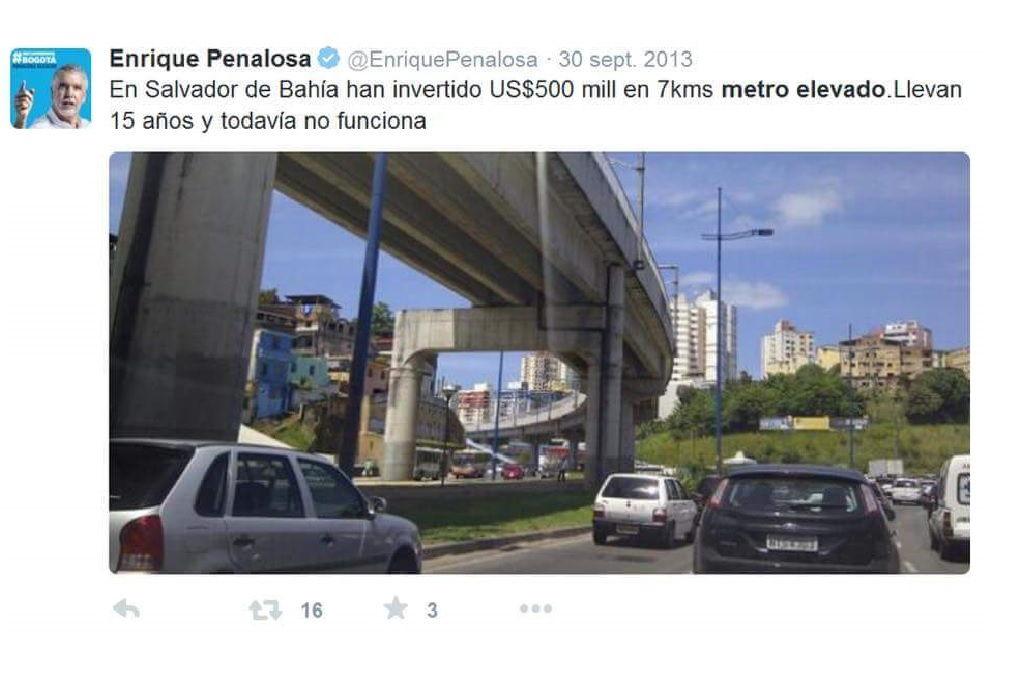 Con Santos y Peñalosa, Bogotá está más lejos del metro que necesita.