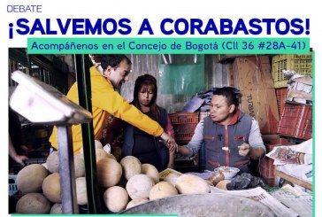 Corabastos a debate por solicitud del concejal Manuel Sarmiento.