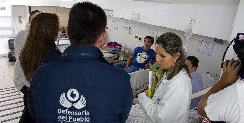 Defensoría del Pueblo corrobora el modelo de enfermedad y muerte de Peñalosa.