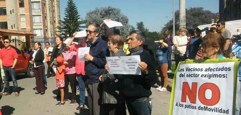[Carta] Rechazo a construcción de patio bodegas en Bachúe y Bochica