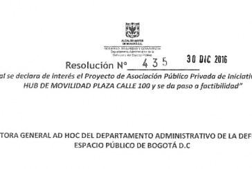 Financiadores y exfuncionarios de Peñalosa están detrás de tres APP sobre espacio público