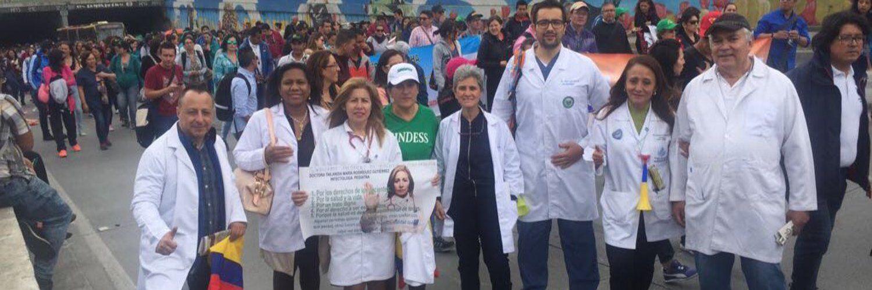 Concejales respaldan y piden a Peñalosa que atienda las peticiones de trabajadores del sector salud del Distrito Capital.