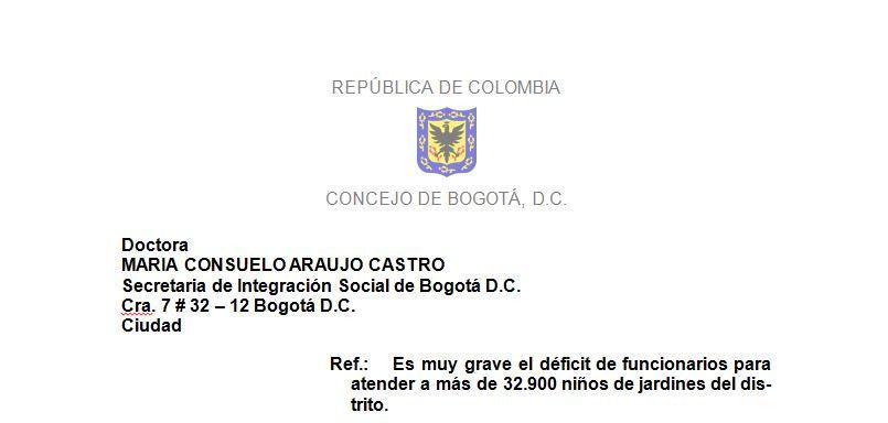 Es muy grave el déficit de funcionarios para atender a más de 32.900 niños de jardines del distrito.