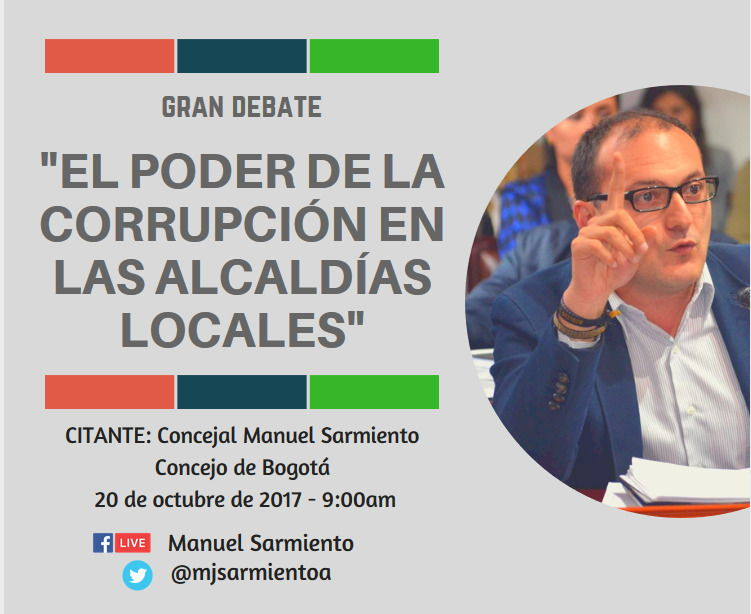 Debate del Polo sobre la corrupción en la contratación de alcaldías locales