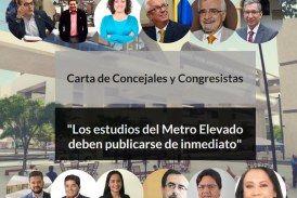 Los estudios del Metro Elevado deben publicarse de inmediato.