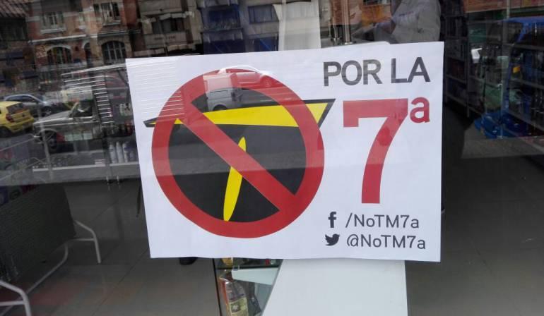 IDU vuelve a prorrogar contrato de diseños de Transmilenio por la Séptima