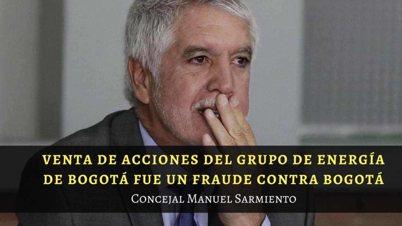Concejal Manuel Sarmiento