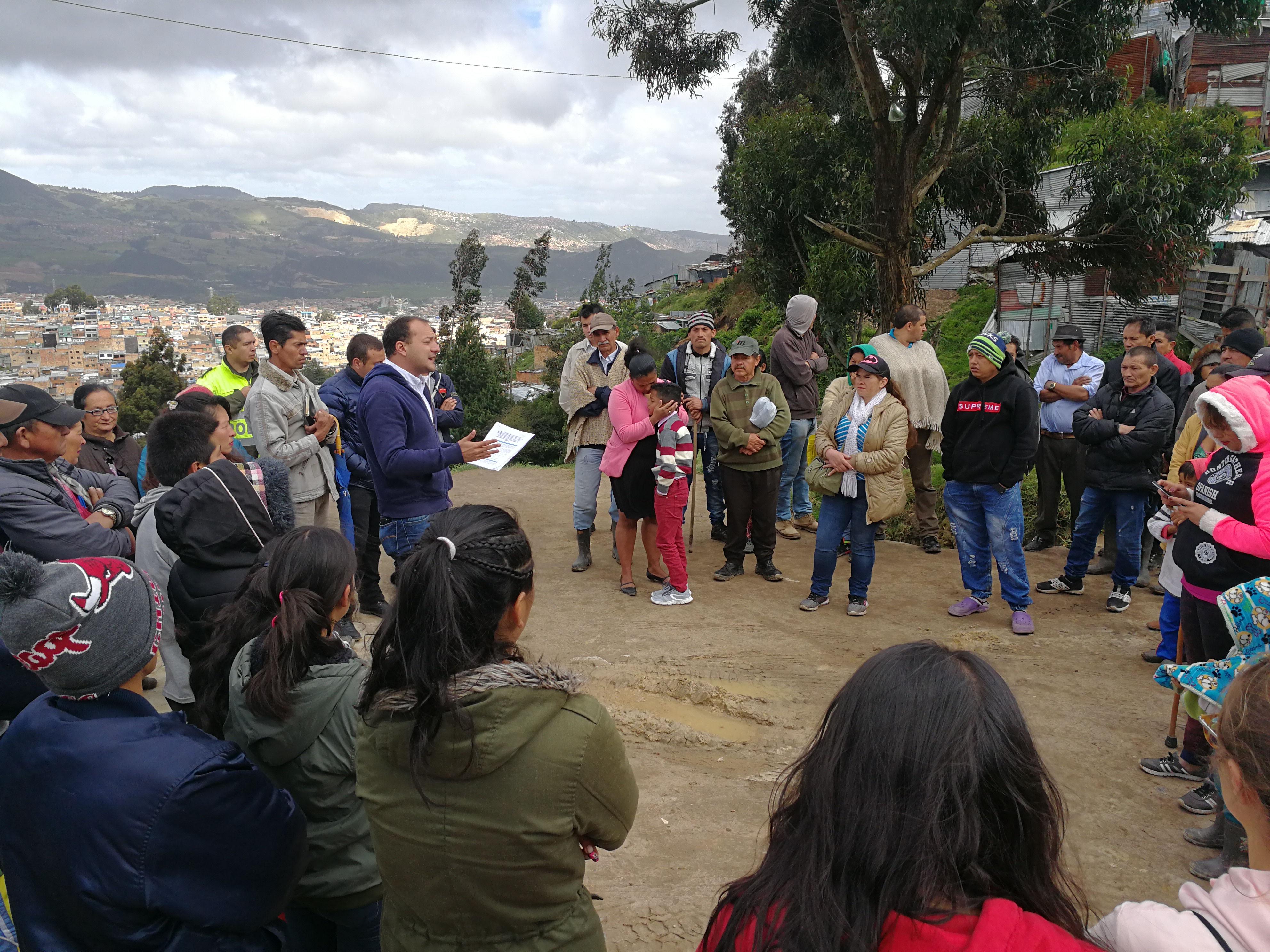 Barrio Tocaimita le gana batalla jurídica a Peñalosa
