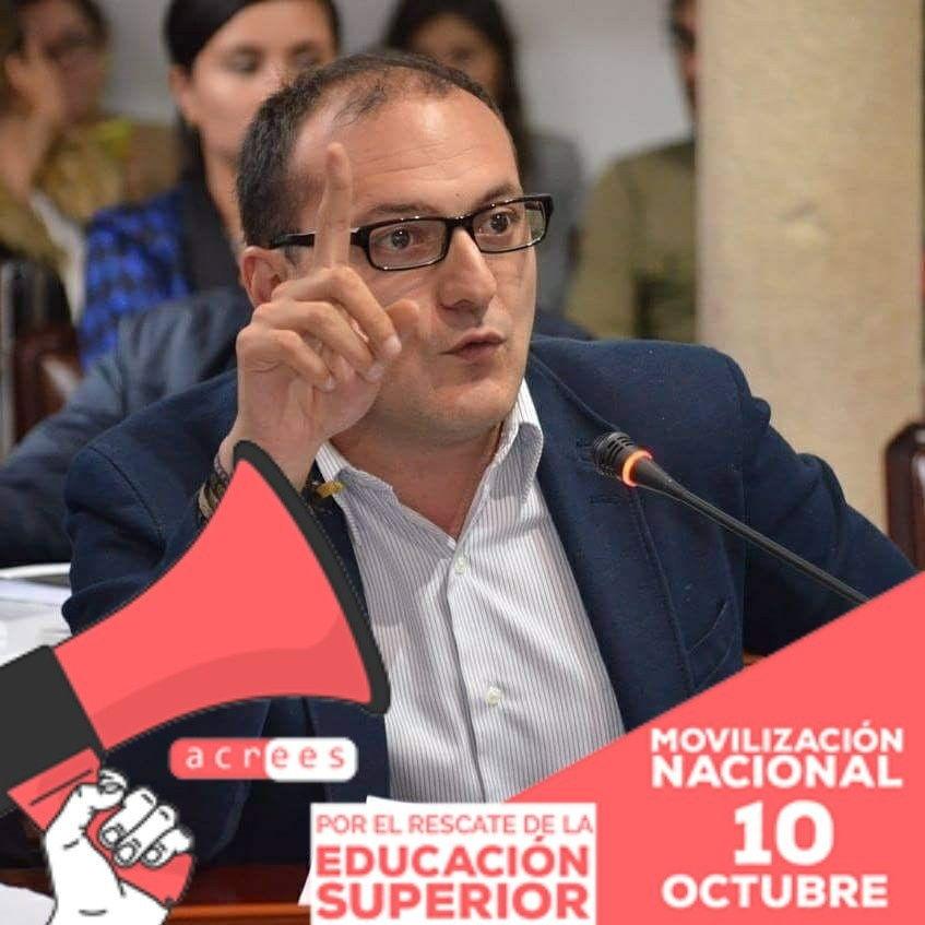 """""""Déficit de infraestructura de la U. Distrital equivale a 16 estadios El Campín"""": concejal Manuel Sarmiento"""