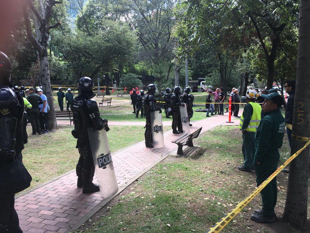 Es deplorable la represión de Peñalosa contra defensores del parque Japón.