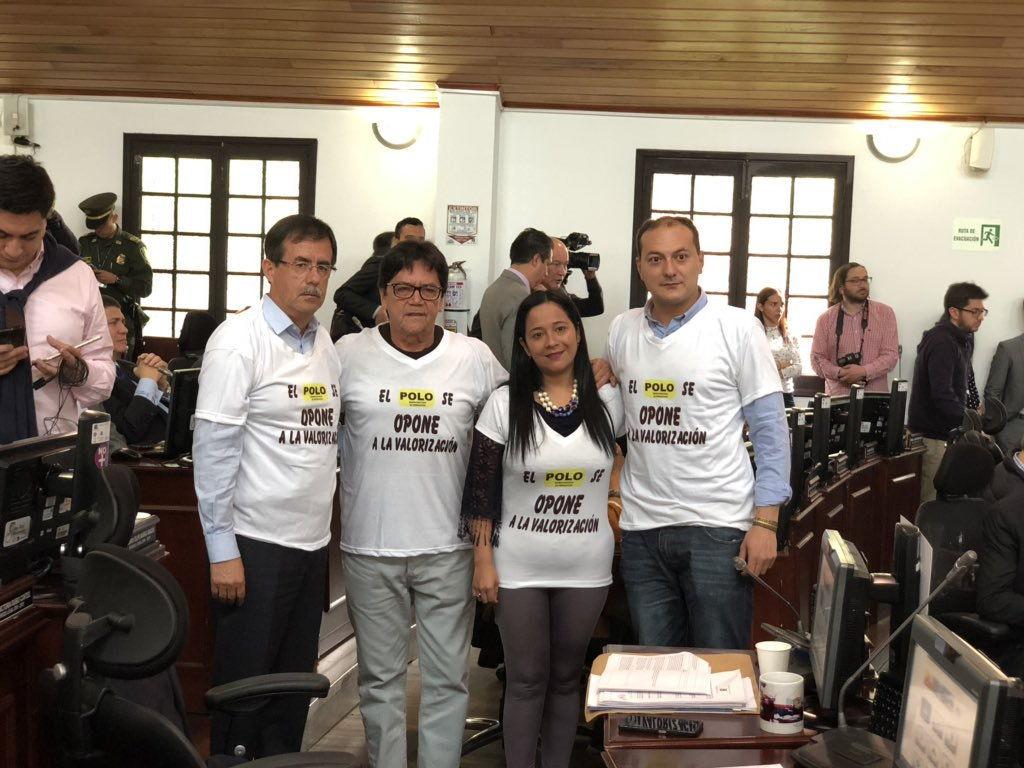 Concejales del POLO demandan el cobro de valorización de Peñalosa