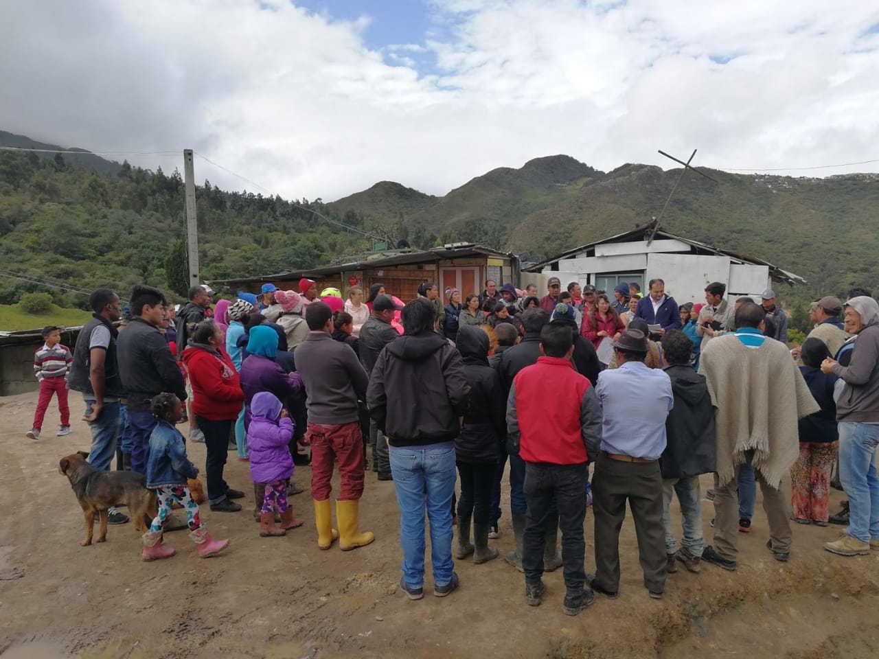 Es inaudito que el gobierno de Peñalosa actúe con tanta desidia frente a las necesidades de la comunidad de Tocaimita