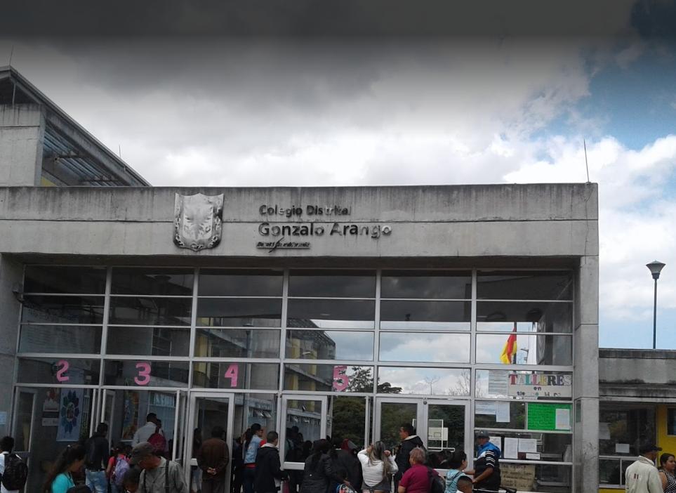 La Administración Distrital debe atender las exigencias de los estudiantes del Colegio Gonzalo Arango