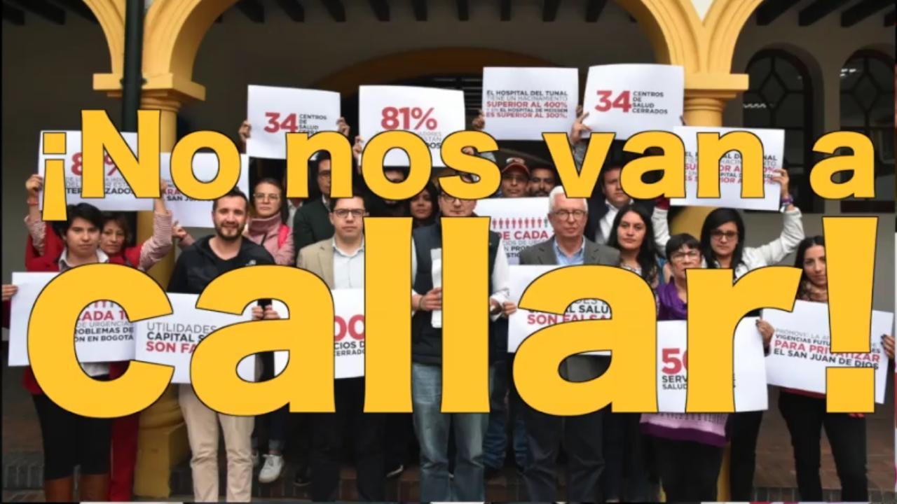 Ganó la libertad de expresión: fallido el intento del Secretario de Salud por silenciar al concejal Manuel Sarmiento