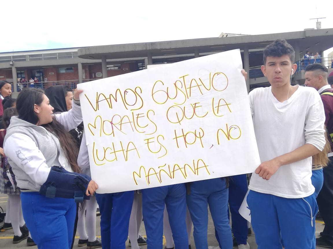 La Secretaría de Educación debe atender la solicitud de padres y estudiantes del Colegio Gustavo Morales de Suba