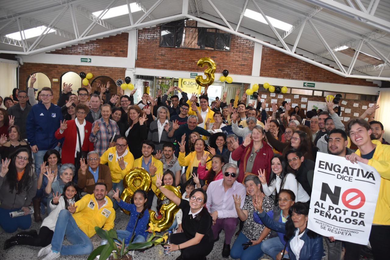 Exitosos lanzamientos de campaña en Tunjuelito, Teusaquillo, Puente Aranda y Engativá.