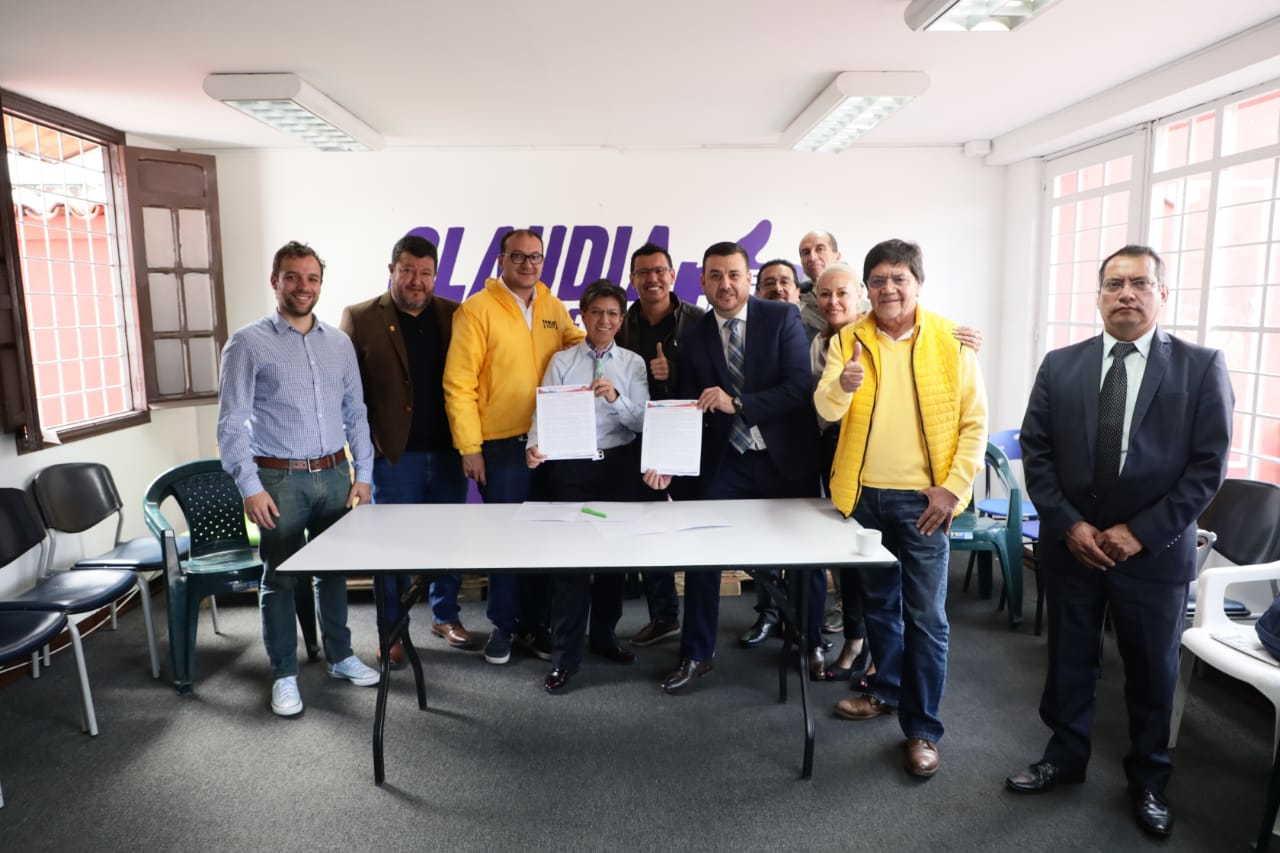 Acuerdo programático de Claudia López para salvaguardar y fortalecer la ETB