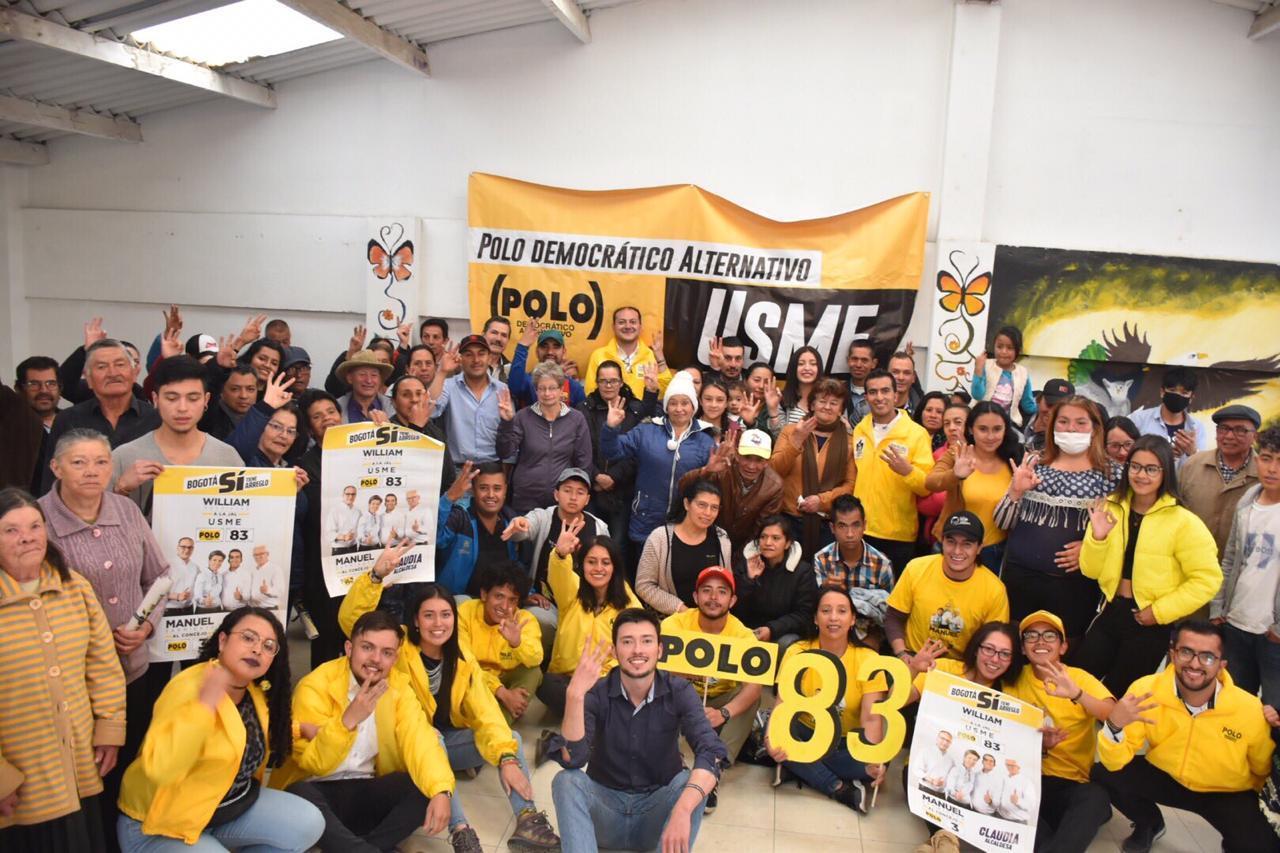 Exitosos lanzamientos de campaña en Barrios Unidos, San Cristóbal y Usme