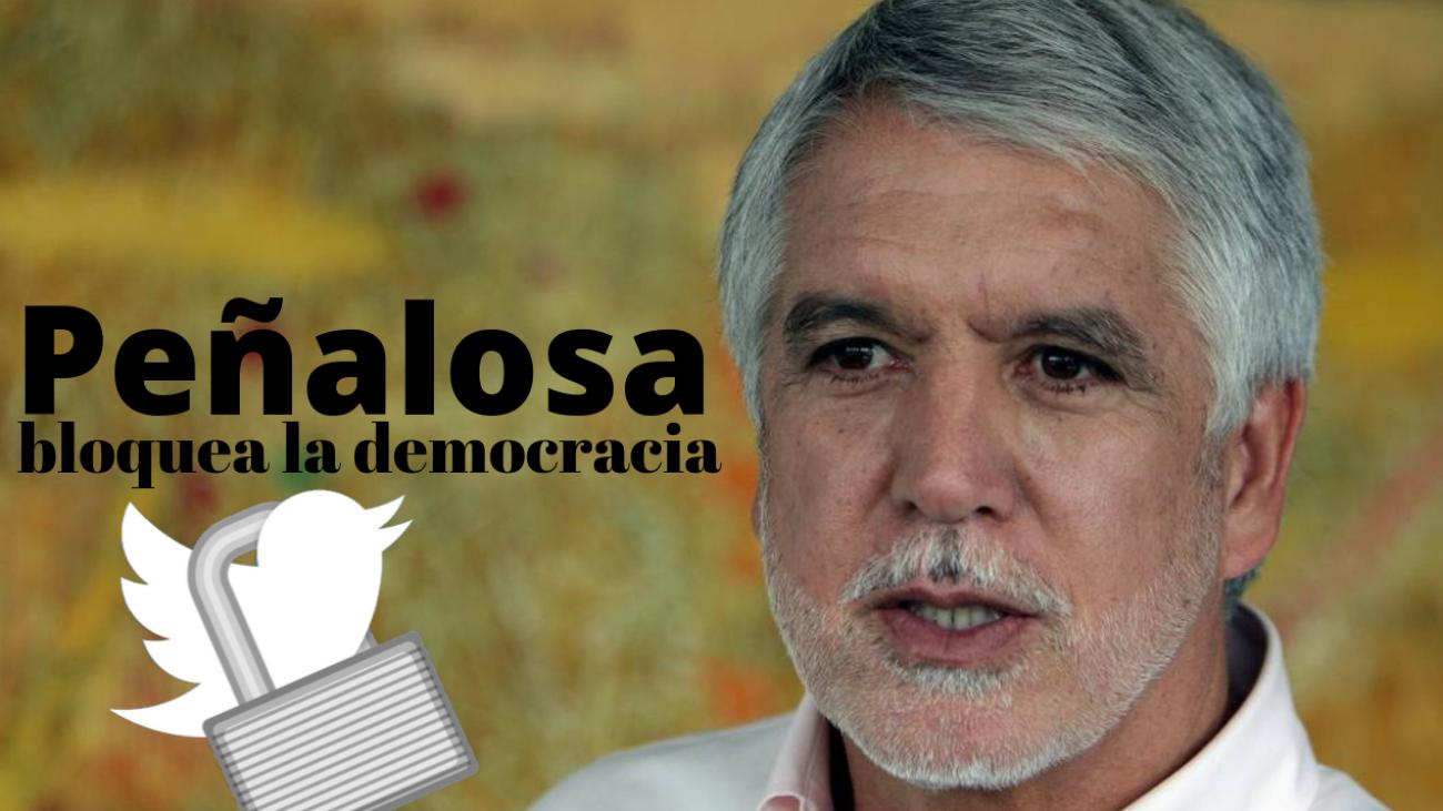 Peñalosa bloquea la democracia