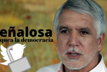 Peñalosa bloquea la democracia y el derecho a la oposición política: concejal Manuel Sarmiento