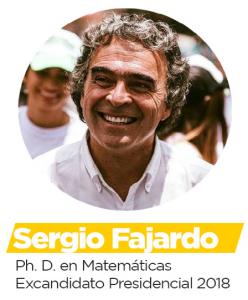 Sergio Fajardo - PhD en Matemáticas y Excandidato presidencial 2018