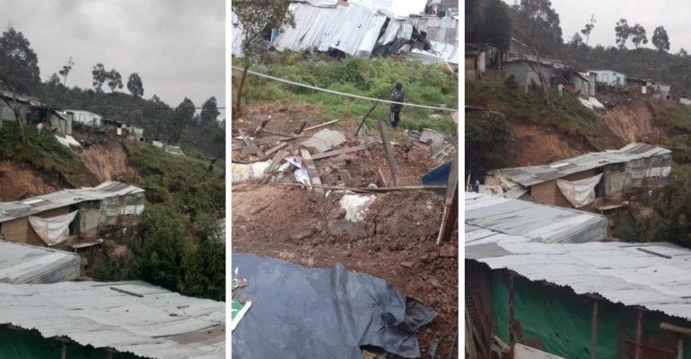 Para evitar una tragedia se deben atender con urgencia a las familias de Tocaimita