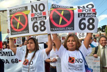 Concejales le reiteran al Tribunal Administrativo de Cundinamarca la necesidad de suspender la licitación de Transmilenio por la 68