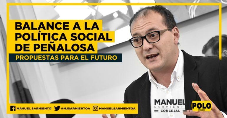 """""""Hay que cambiar el enfoque de la política social en Bogotá"""": concejal Manuel Sarmiento"""