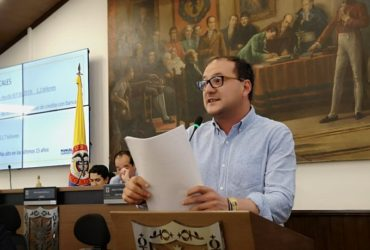 En discusión del Plan Distrital de Desarrollo, el concejal Sarmiento hace propuestas en materia de Desarrollo Económico y Cultura